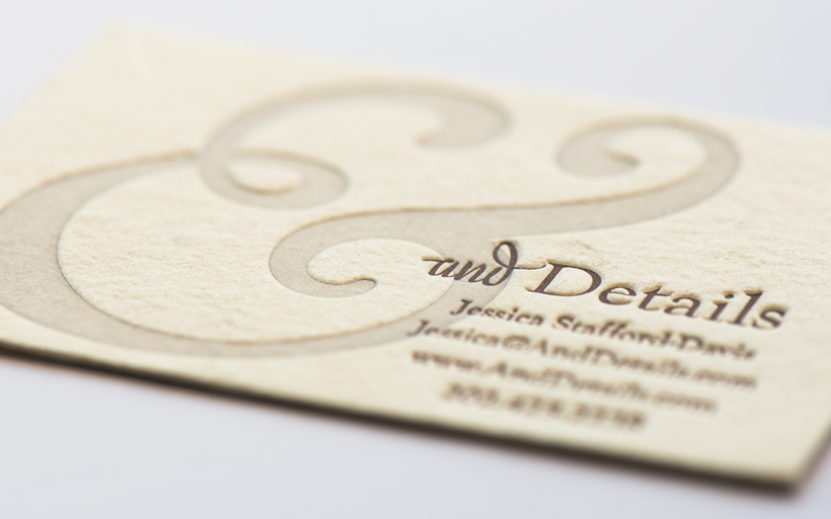 letterpress business cards washington dc