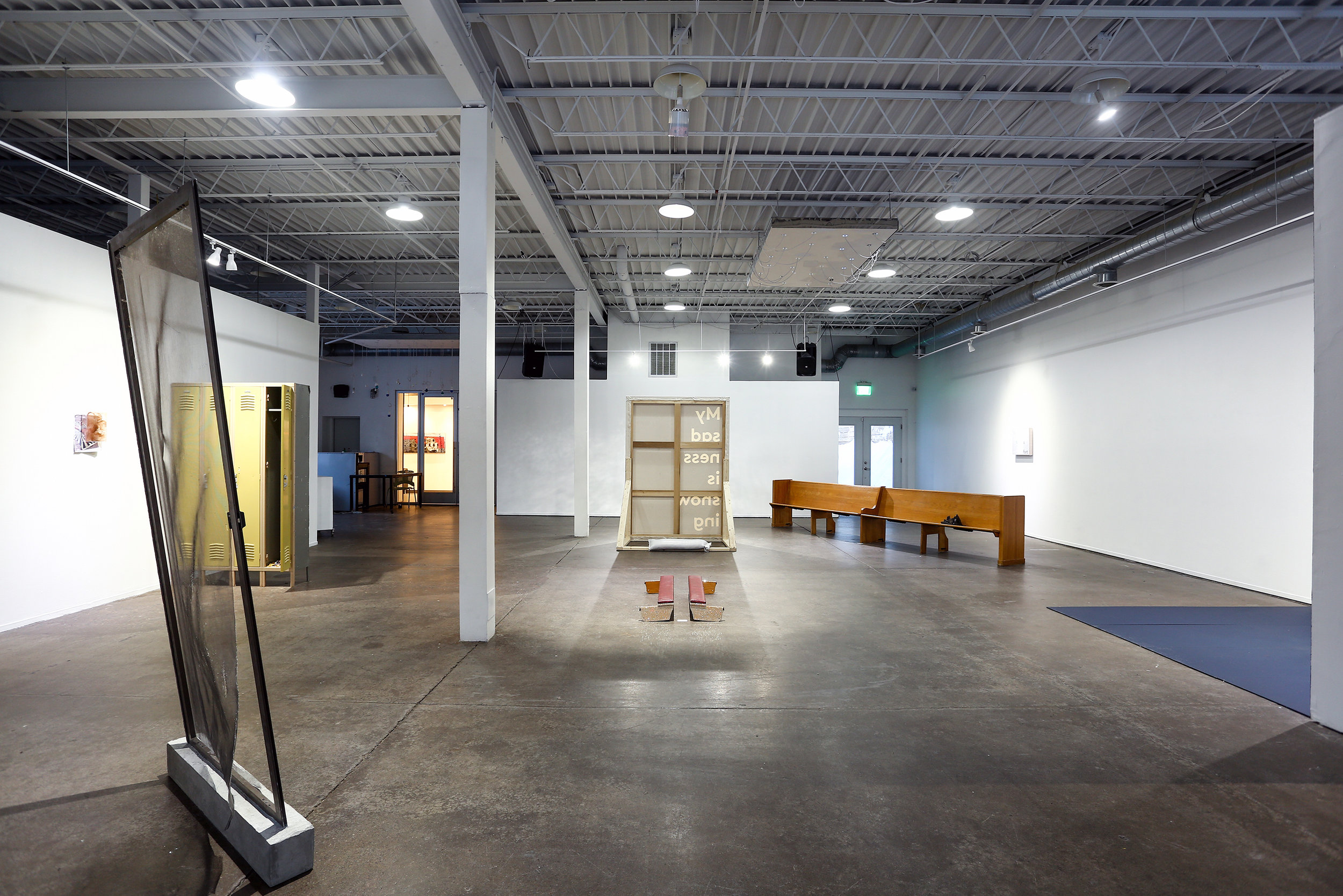 "Documentation from solo show ""of the North"" at  Public Functionary  in Minneapolis, MN. Original show dates Feb 16th - Mar 9th, 2019. This show was made possible through organizations including the  Minnesota State Arts Board ,  RECLAIM! , the  SCSU's LGBT Resource Center , and ""Safe in Virginia, MN"" community group.  Jacob Aaron Schroeder is a fiscal year 2018 recipient of an Artist Initiative grant from the Minnesota State Arts Board. This activity is made possible by the voters of Minnesota through a grant from the Minnesota State Arts Board, thanks to a legislative appropriation by the Minnesota State Legislature; and by a grant from the National Endowment for the Arts."