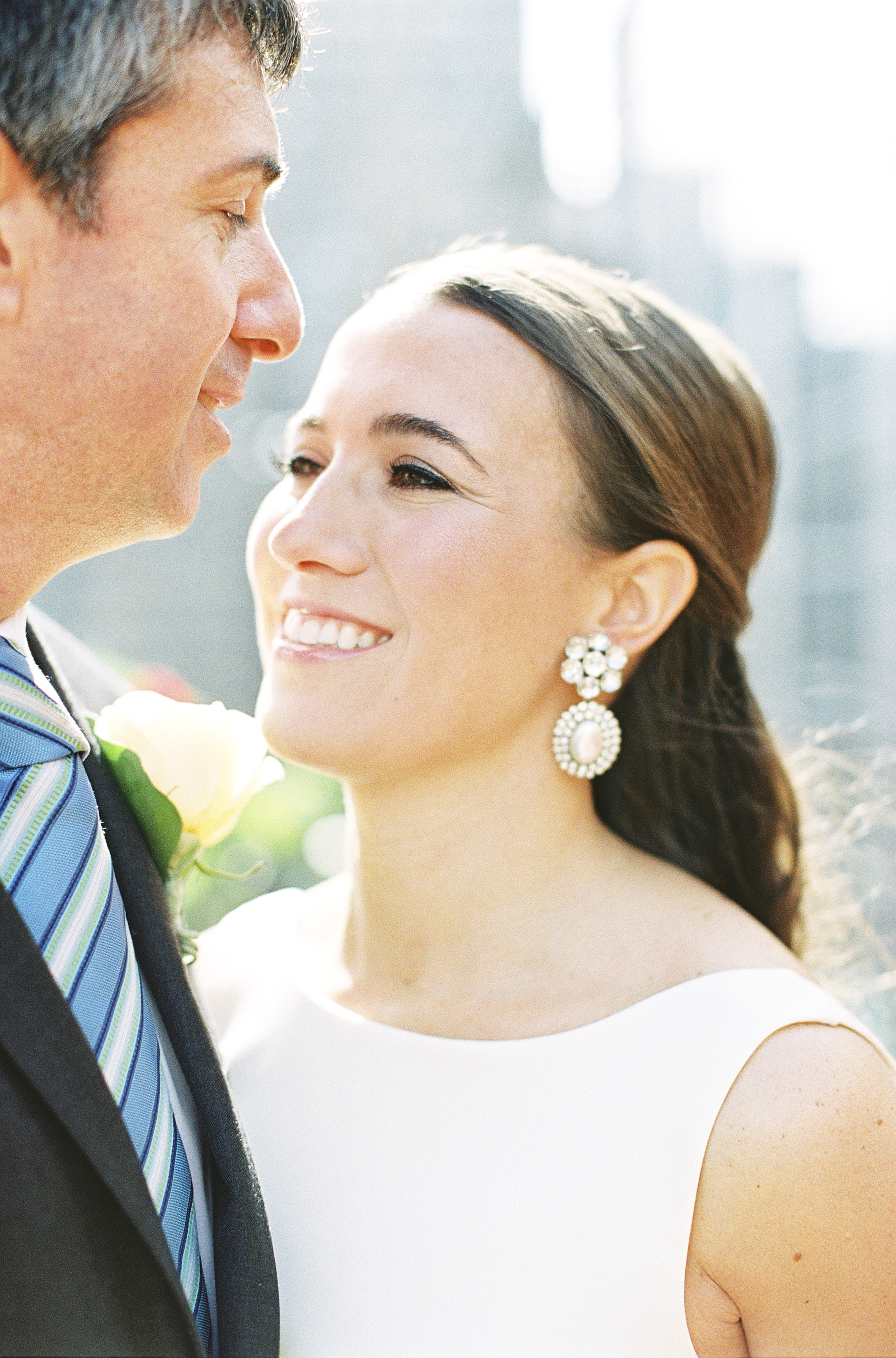 Custom Earrings made from vintage components. Photo Credit: Alicia Swedenborg