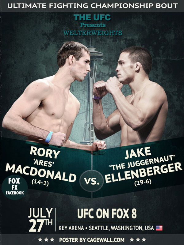 Official UFC poster. Property of UFC.