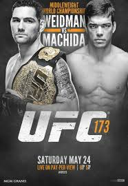 Official UFC poster. Property of UFC