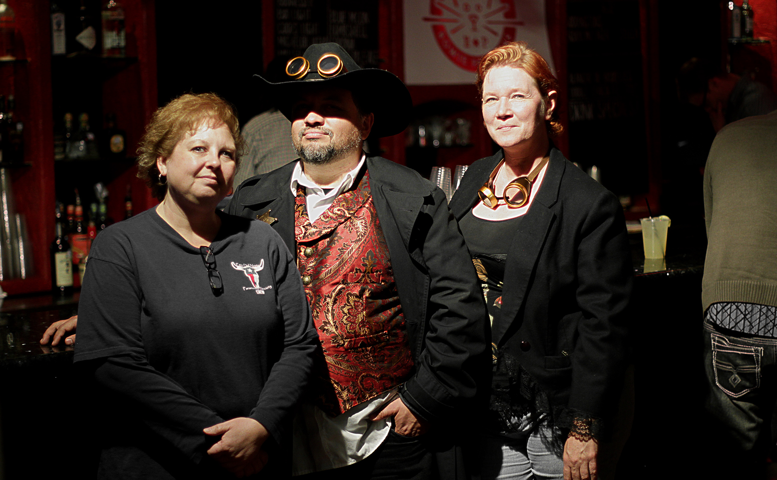 Left to Right: collette Maes, Henry Flores,Bonnie Juarez