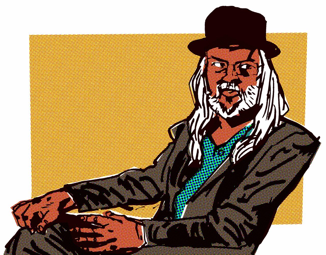Grant Collinsworth, illustration by Oisin McGillion Hughes