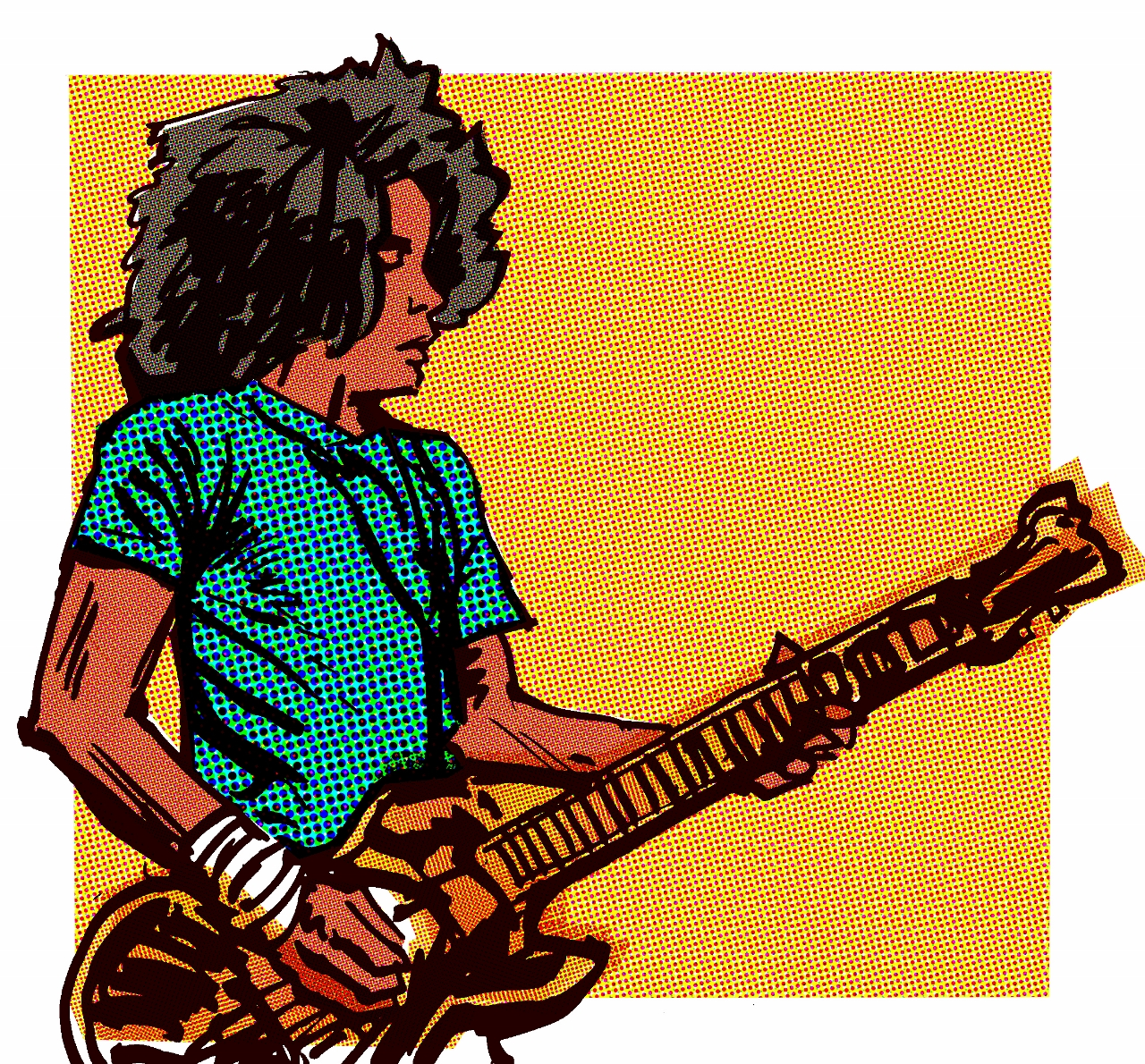 Brandon Bailey Johnson as illustrated by Oisin McGillion Hughes