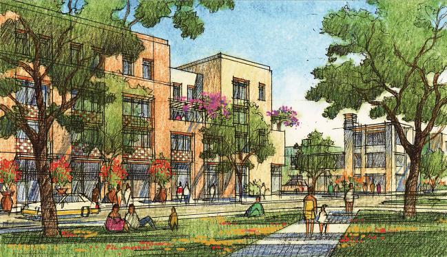 sketch of Northeast Smart Code project. Image: El Paso Times