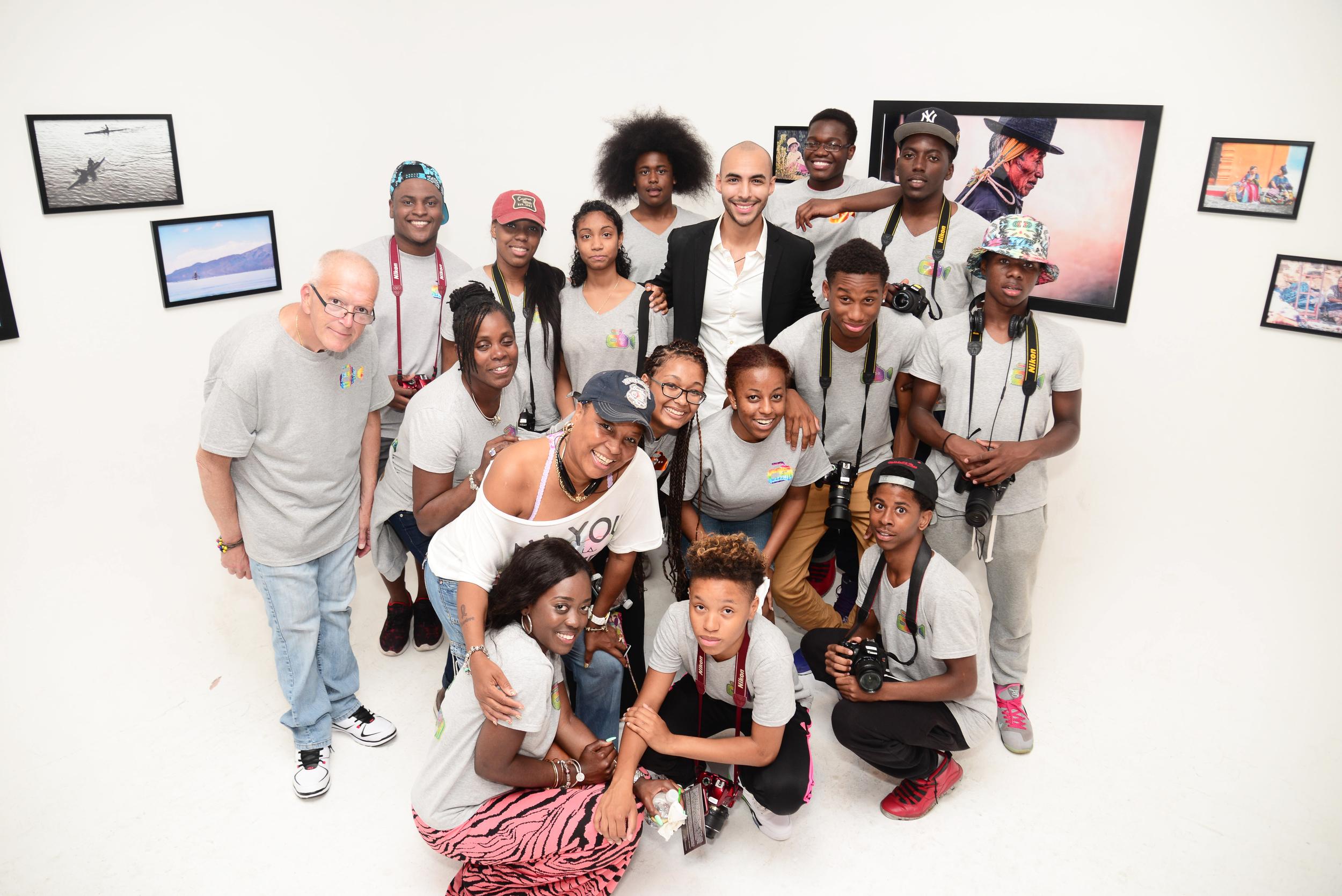 Coney Island Generation Gap (CIGG) with Raul at KAWSAY gallery show