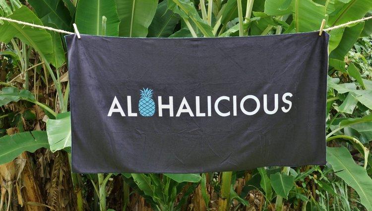 Alohalicious Towel
