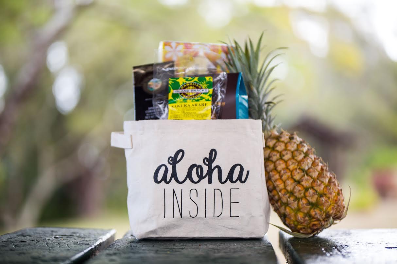 Aloha Inside Bin