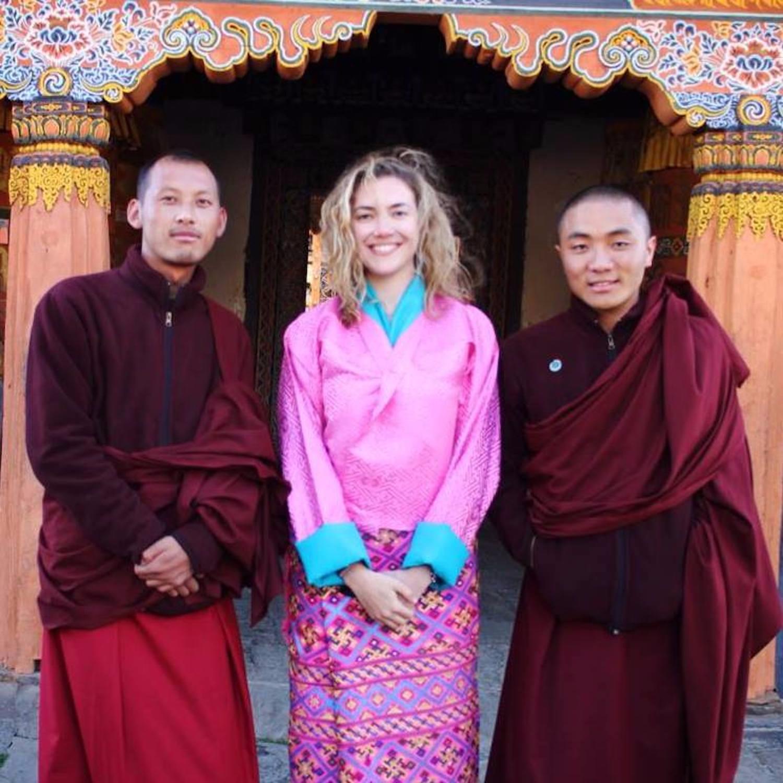 erin_levi_pink_kira_red_monks_bhutan.jpg