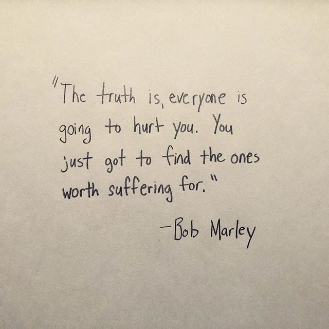 Thanks to @npr 's A Way With Words for reminding me today of this great Bob Marley quote. #truth #awaywithwords