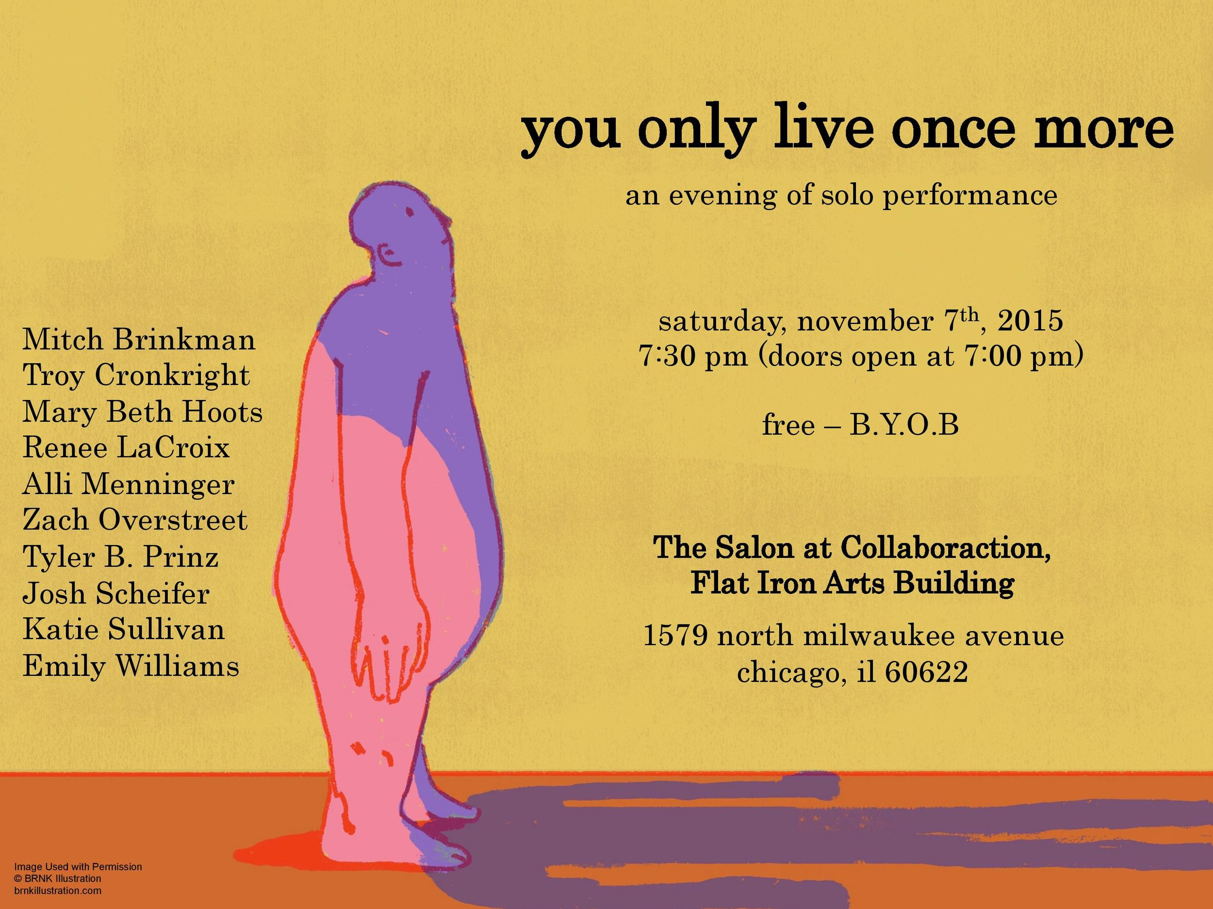 you only live once more poster