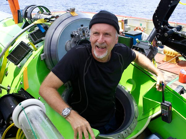 James Cameron returns from the Mariana Trench,  Photograph by Mark Thiessen, National Geographic