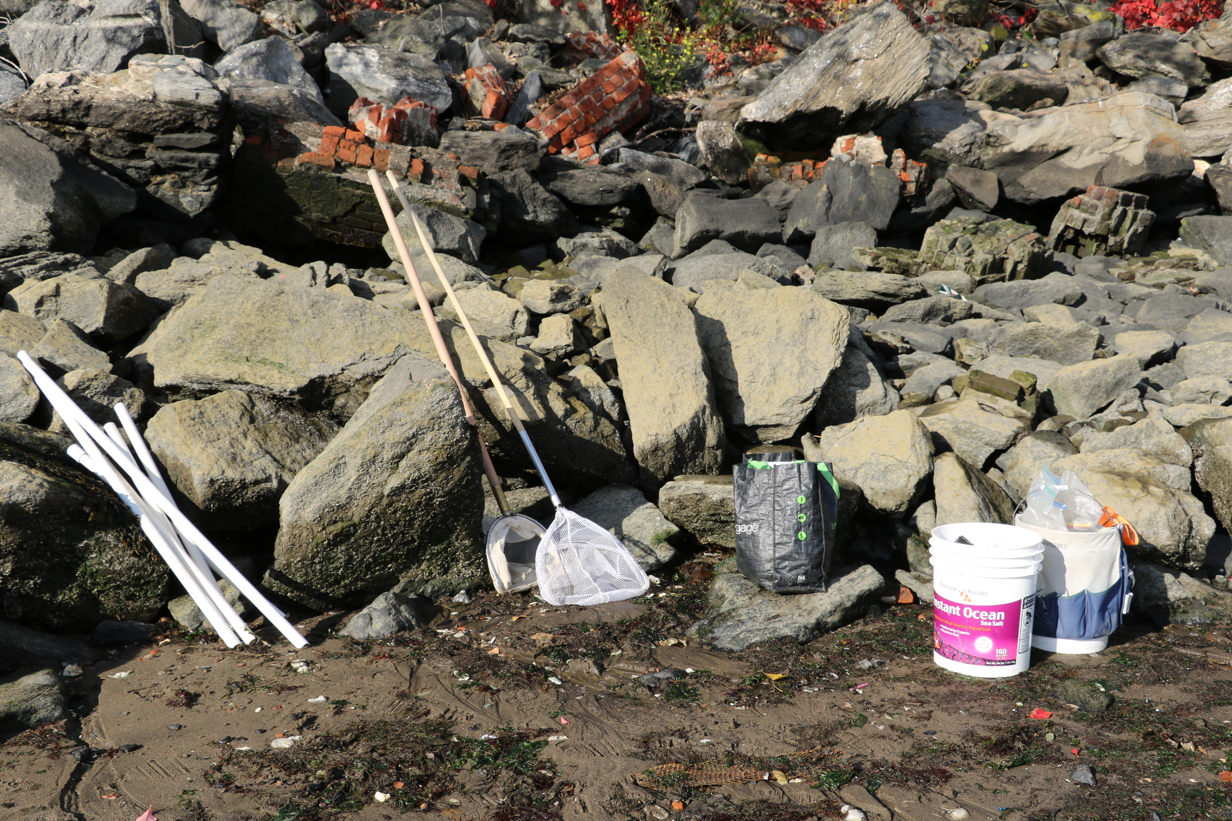 Pipes, Nets, and Buckets, Photo Credit: Liz Summit, 2015