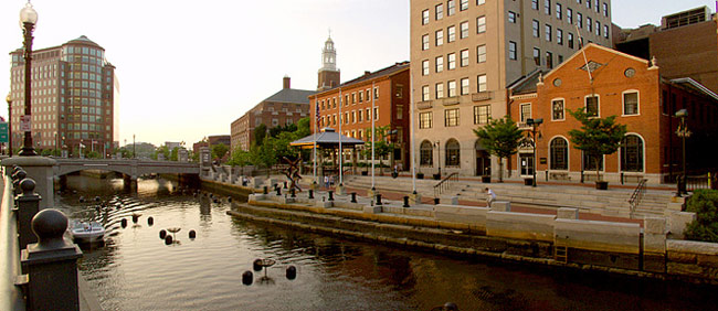 The beautiful town of Providence. I didn't actually take this picture, as I barely went outside.
