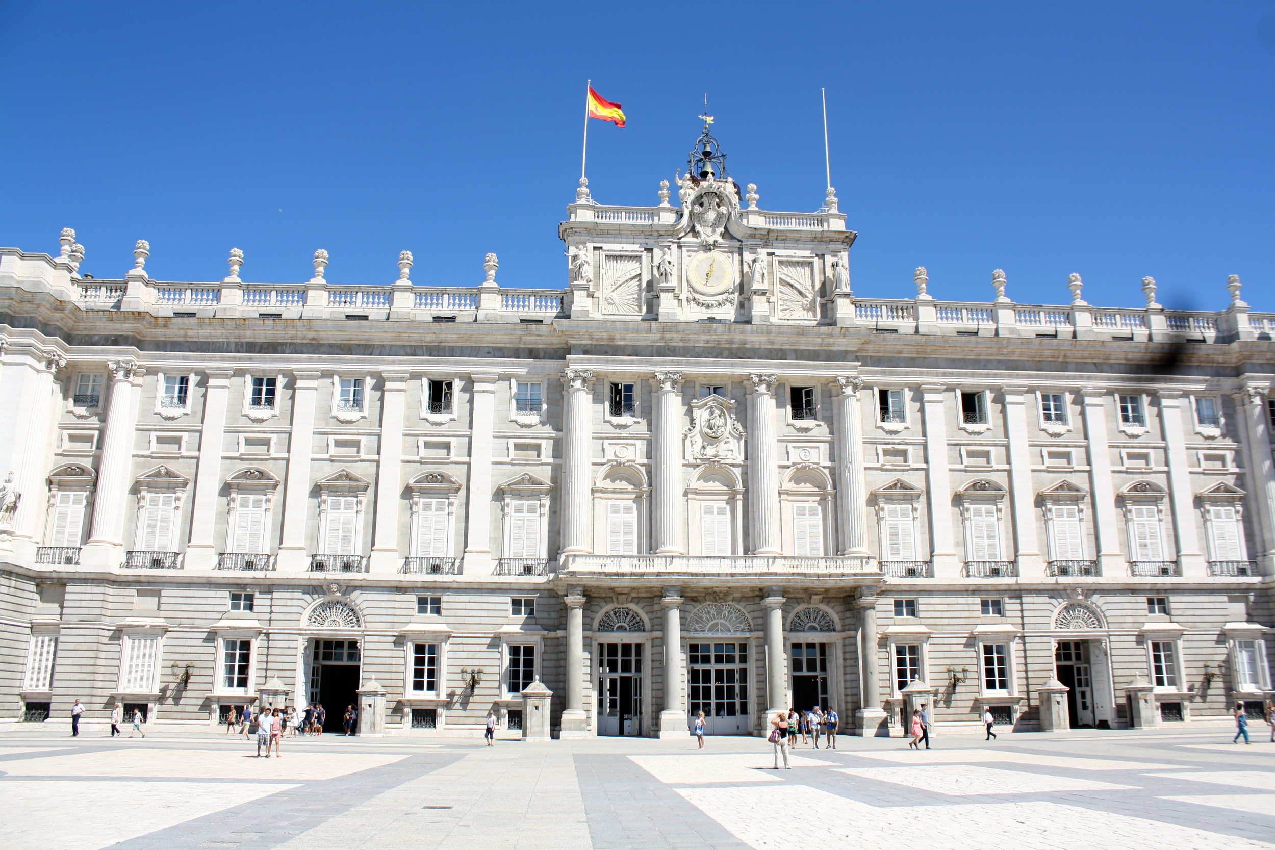 The Royal Palace of Madrid. I swear it was even bigger on the inside.