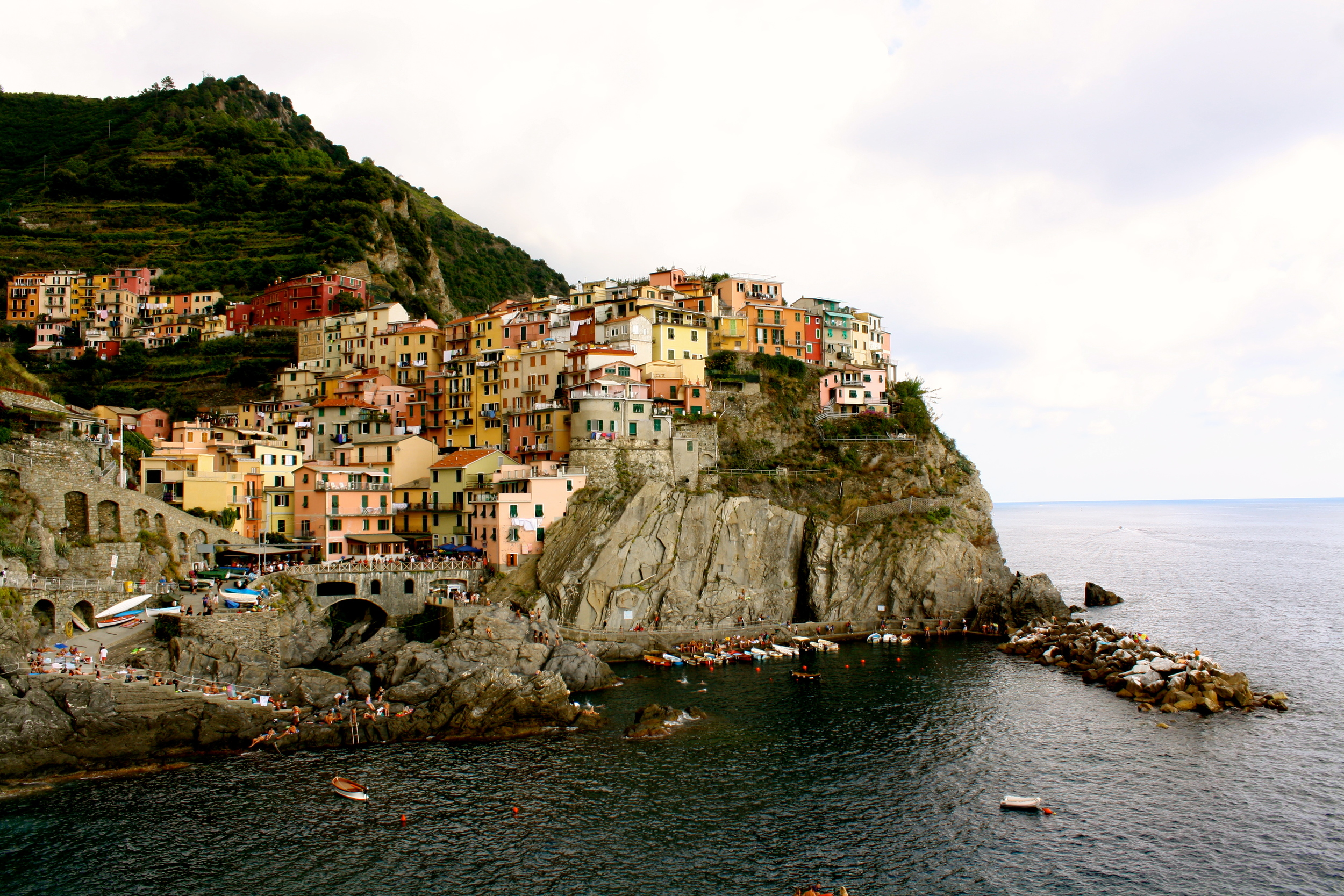 Manarola was my favorite of the Cinque Terres, it's kind of incredibly gorgeous.