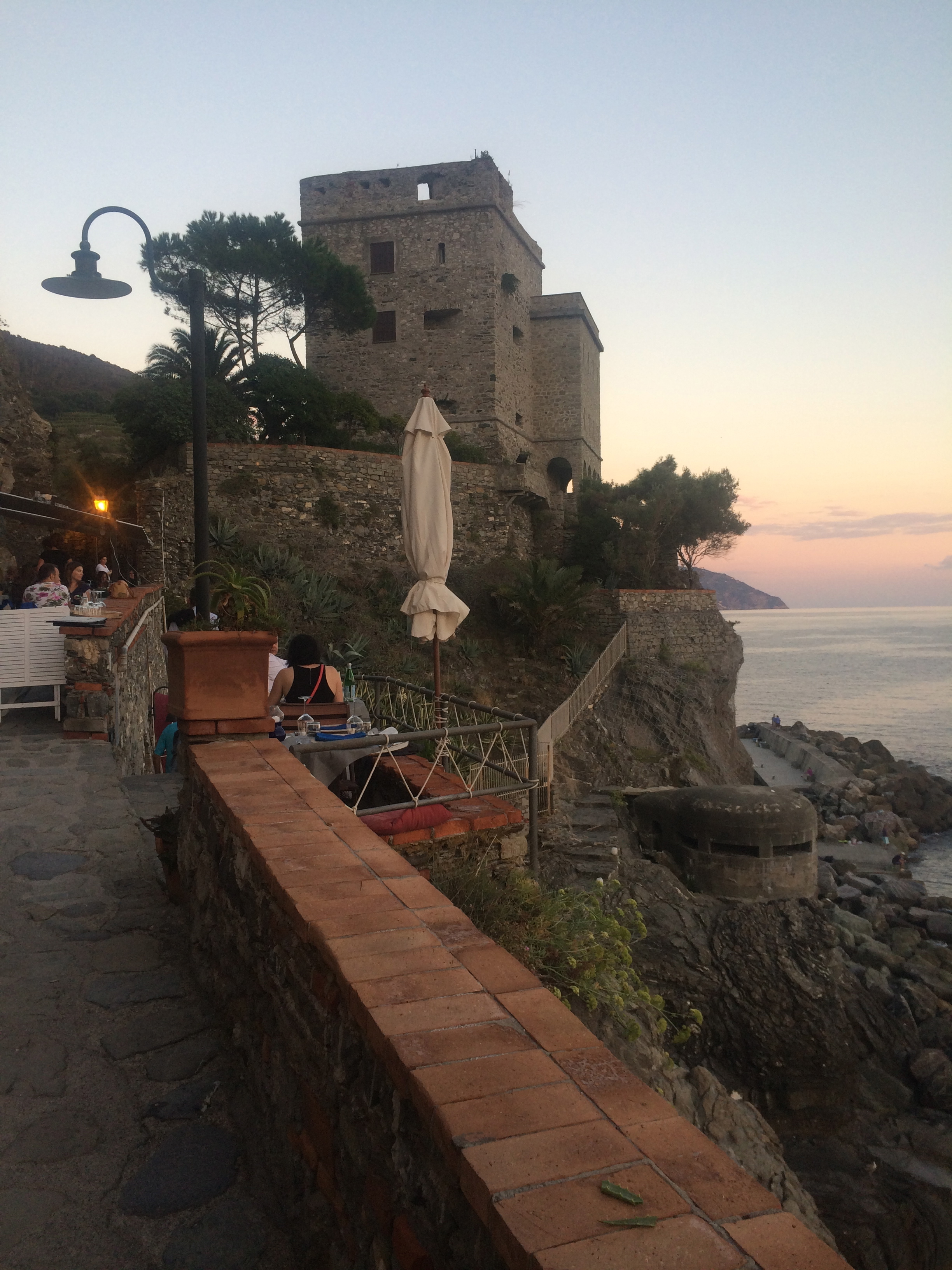 Castles by the sea are pretty stunningly cool.