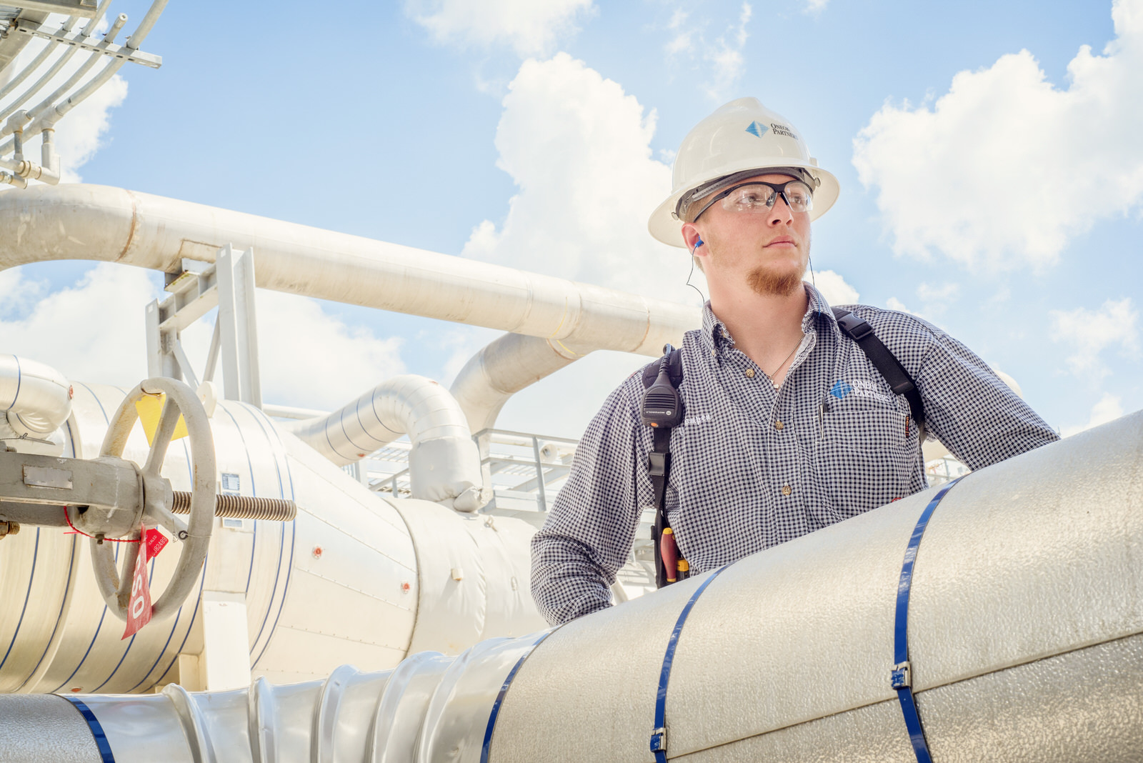 Advertising photography for an oil company in North Dakota