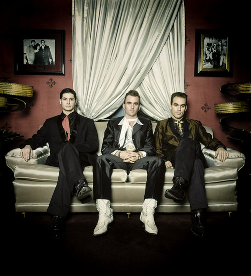 A music trio captured by Allen Clark Photography