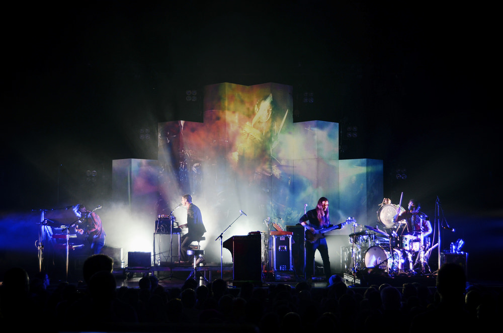 Music concert photography by Allen Clark