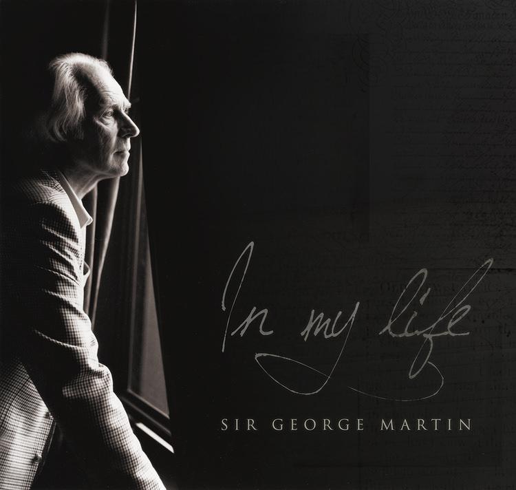 Sir George Martin captured by music photographer Allen Clark