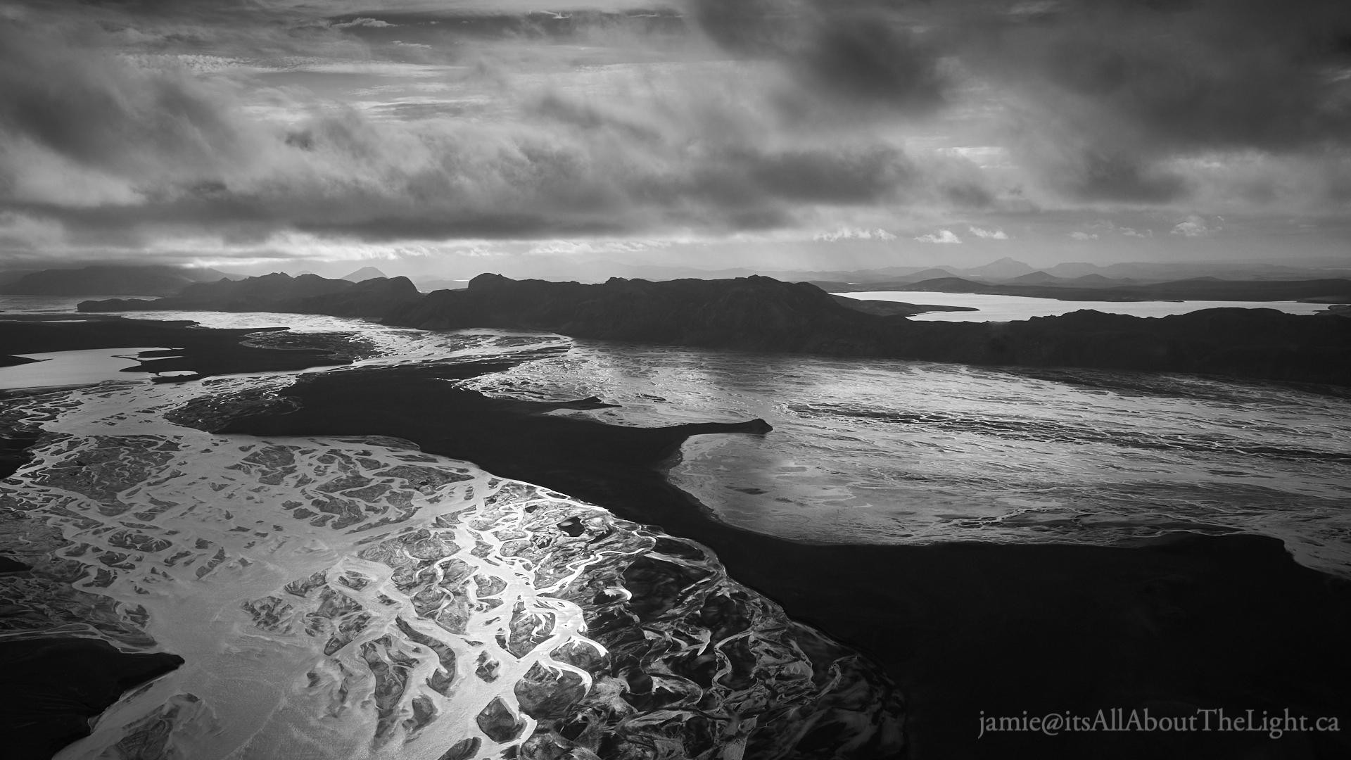 Vatnajökull's glacier delta  2017-08-25
