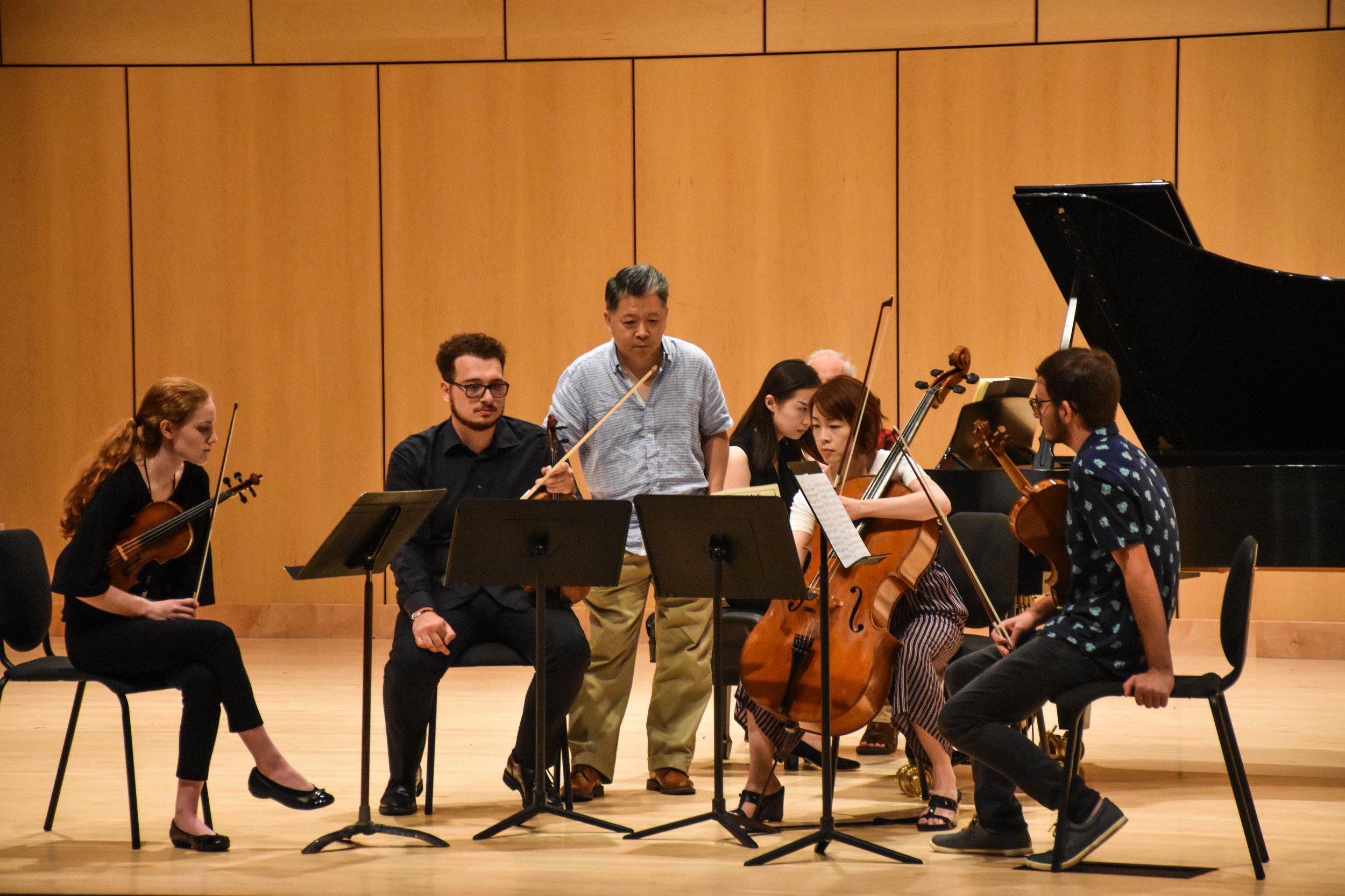 Masterclass with Shanghai Quartet