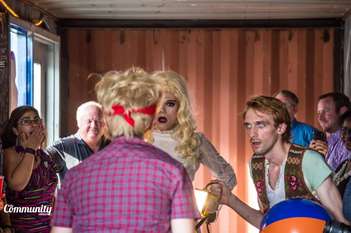 Photo courtesy of  The Community Edition  Featured:Hanna Vanden Boomen, Nick Potter, Jaime Lujan