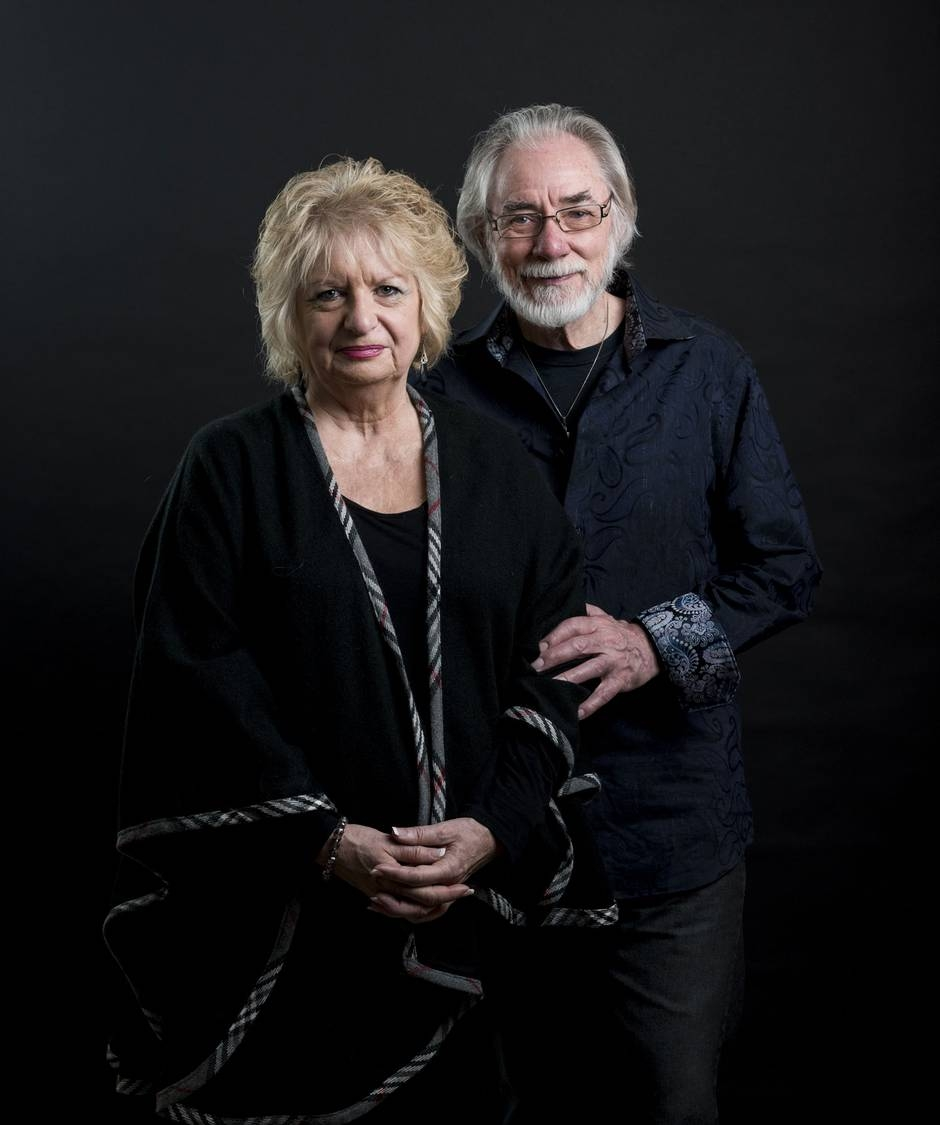 """""""Wilma and Cliff Derksen never met the man who they believe killed their daughter, the man they vowed to try to love, though they have sat through both his criminal trials.""""  PHOTOGRAPHY BY DAVID LIPNOWSKI FOR THE GLOBE AND MAIL"""