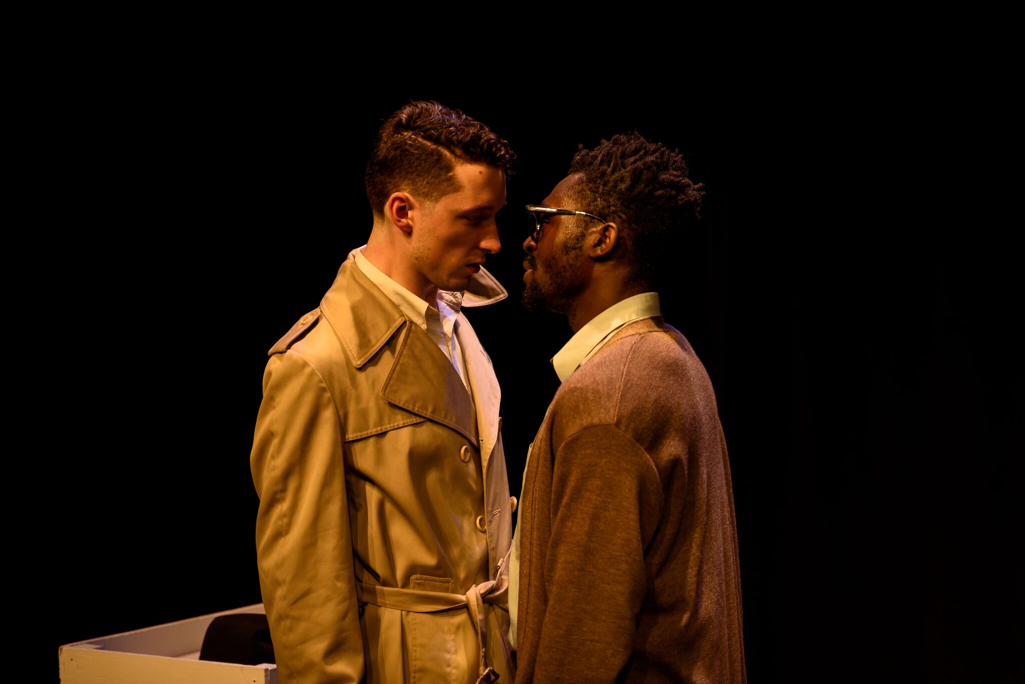 Photo of Kwaku Okyere and Conor Ling by Foreshots Photography