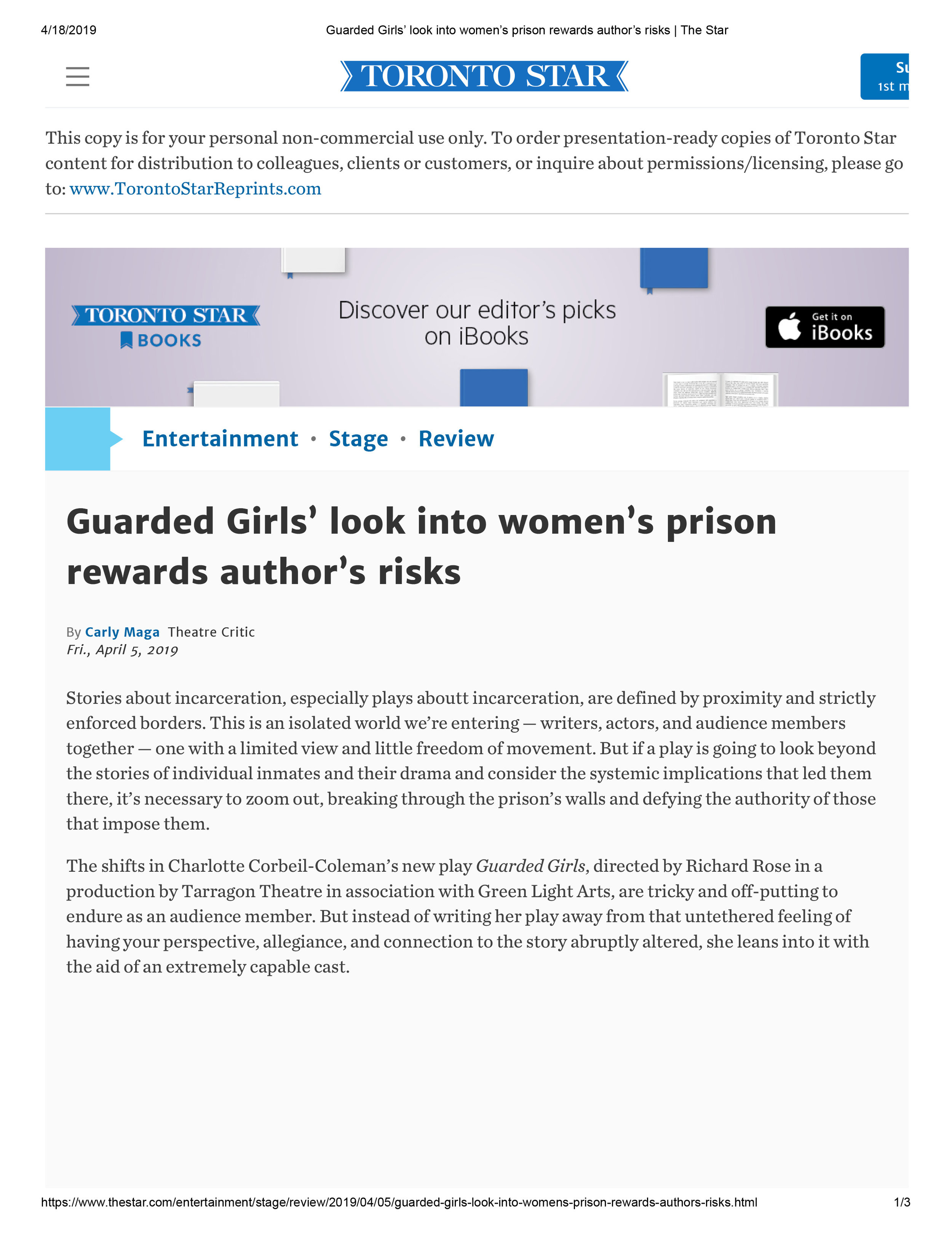 Guarded Girls' look into women's prison rewards author's risks _ The Star.jpg
