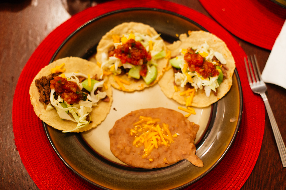 Sonoran Mexican food is better than all the other kinds. Actually, I'll hold my tongue until I visit Oaxaca.