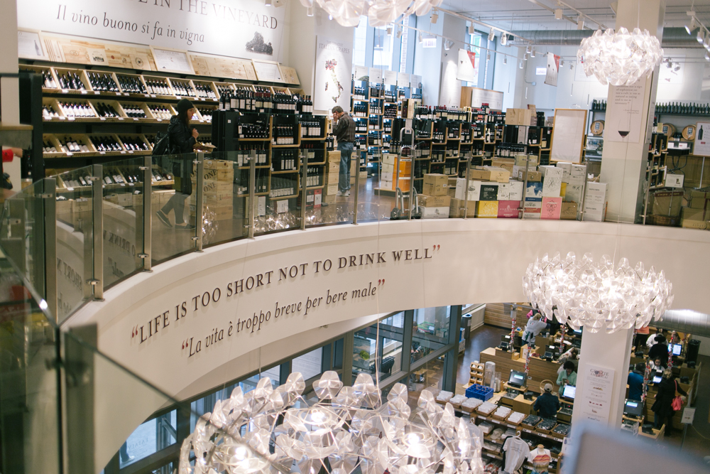 Truer words have never been posted on the wall of EATaly