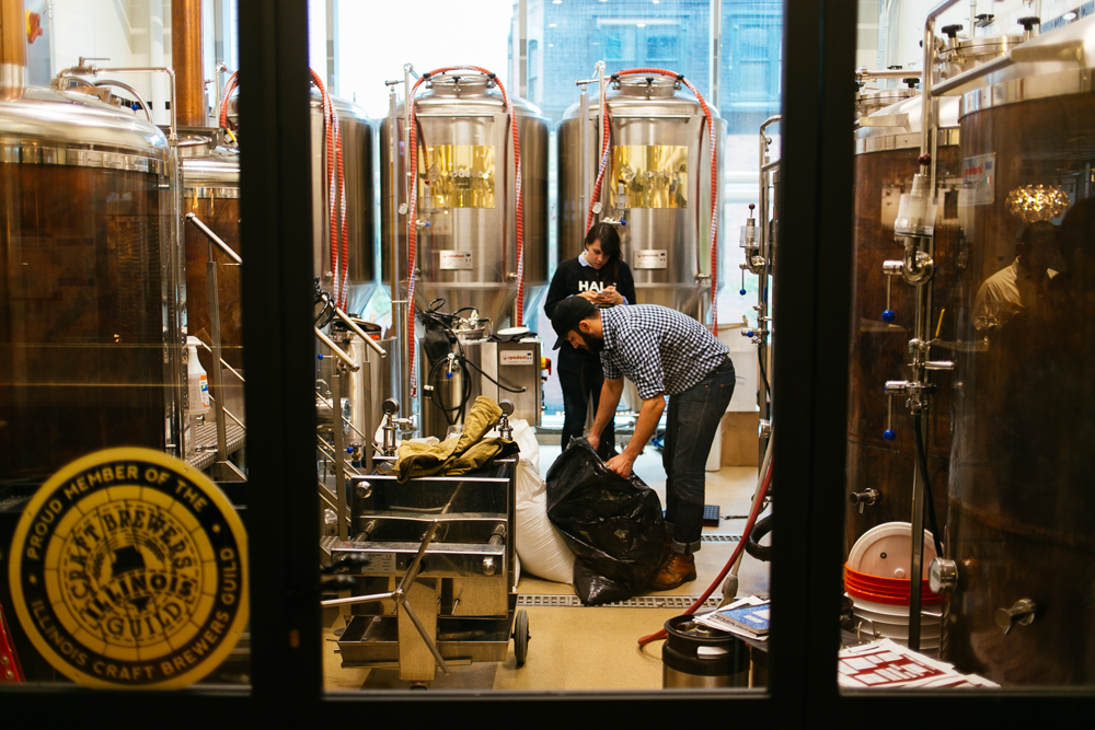 Making beer in  EATaly