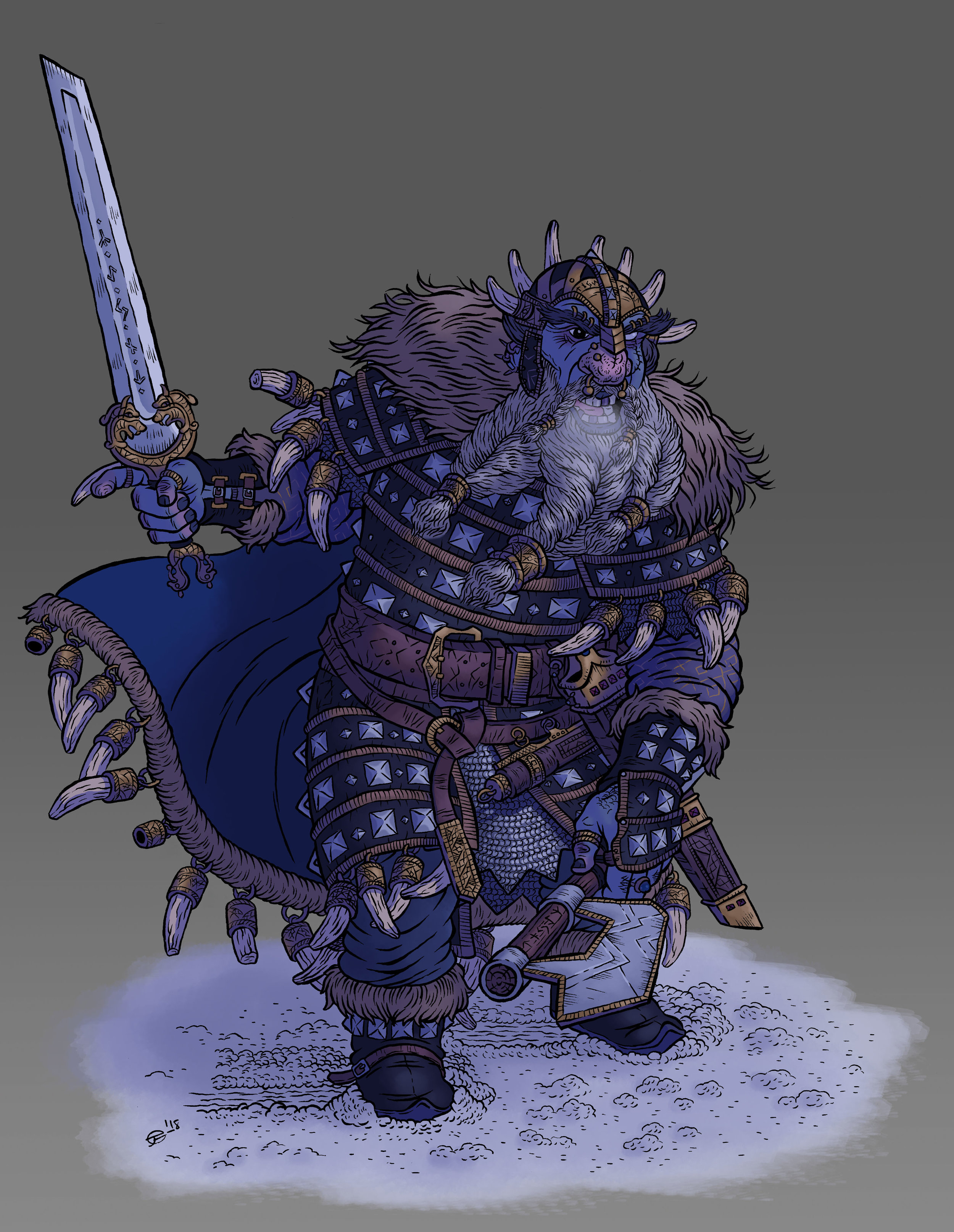 HREIDMAR- King of the Dwarves
