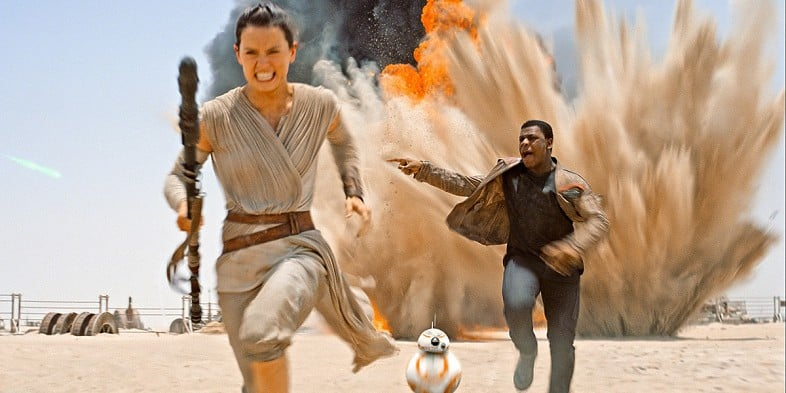 Rey's version of leading with purpose. :P