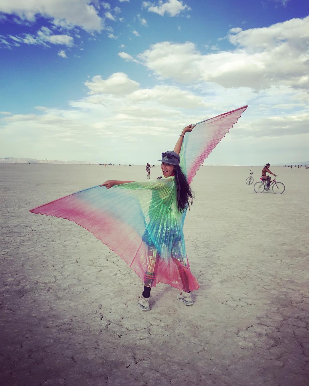 Hello Burning Man.