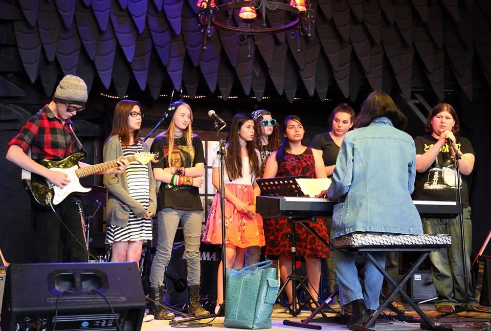 Voice and Garage Band Collaboration. TAOS MESA BREWERY