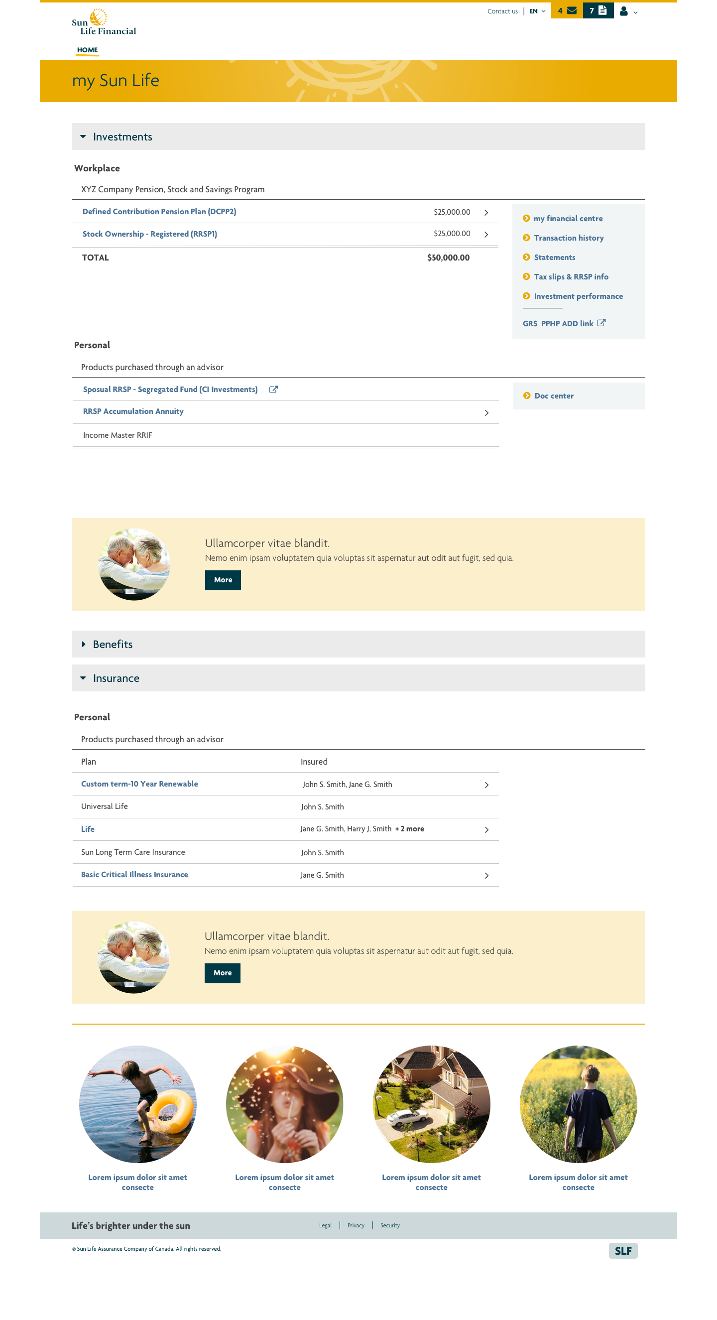 Homepage visual II