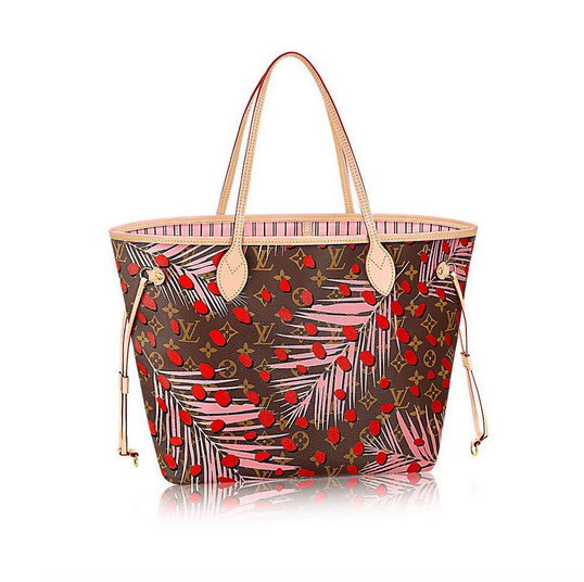 Louis vuitton palm springs neverfull MM 2016