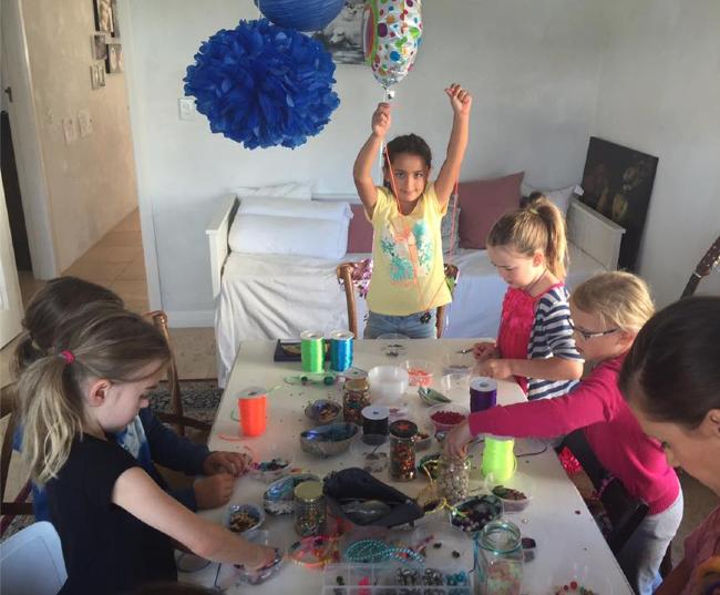 kids birthday party jewellery workshop wellington new zealand