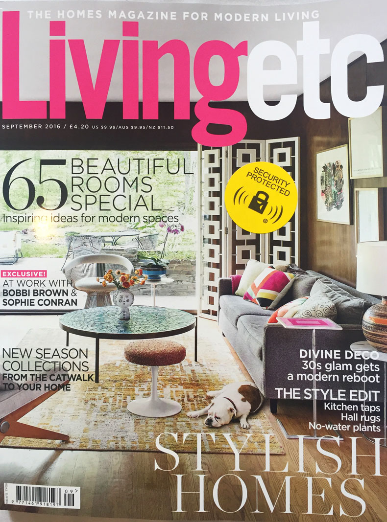 Featured in living etc uk magazine handmade statement necklace