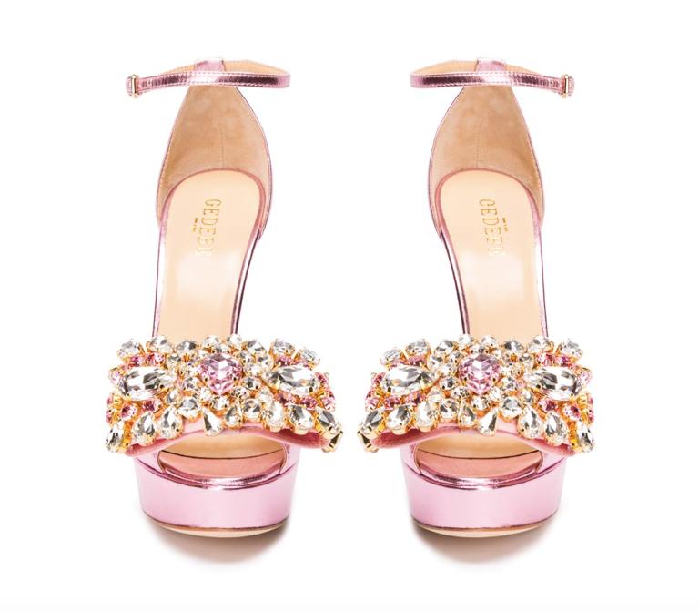gedebe embellished court shoe