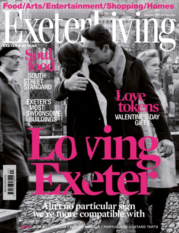 Shh by Sadie press Exeter Living magazine