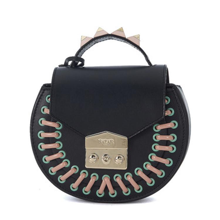 black solar pocket mimi bag