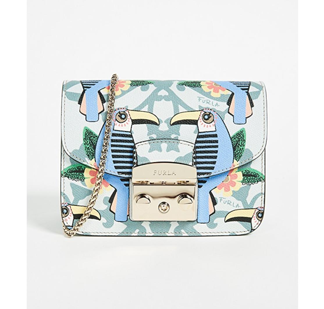 furla metropolis toucan mini bag