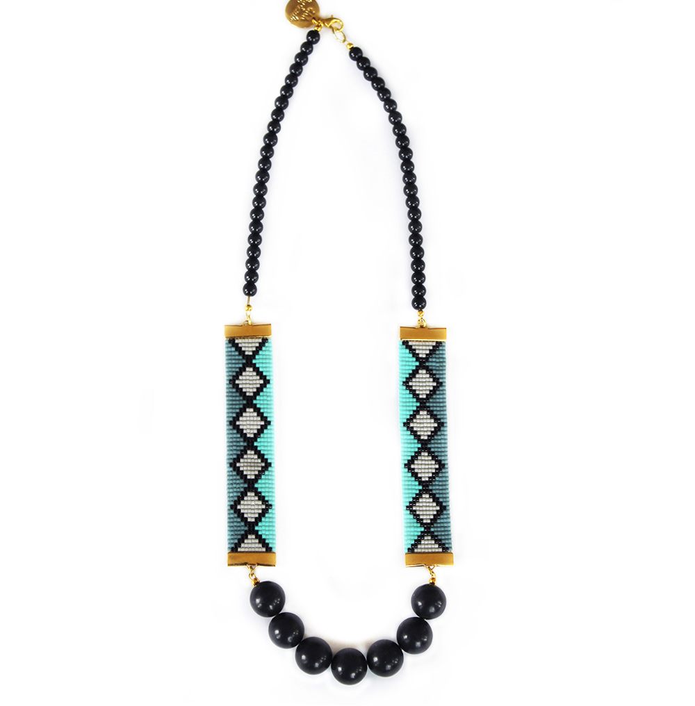 Shh by Sadie Statement Necklace handmade in England