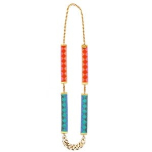 colourful layering necklace festival fashion jewellery
