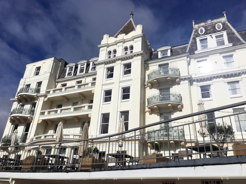 the grand hotel torquay Devon photoshoot location