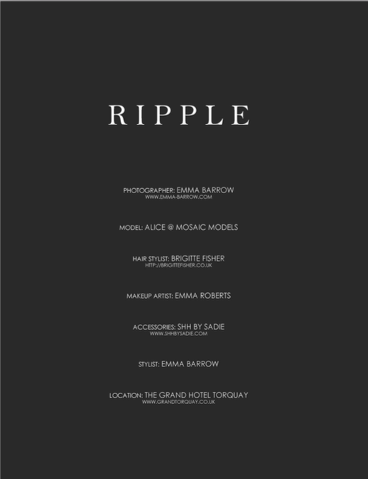 Ripple Editorial, beauNU Magazine, June 2018